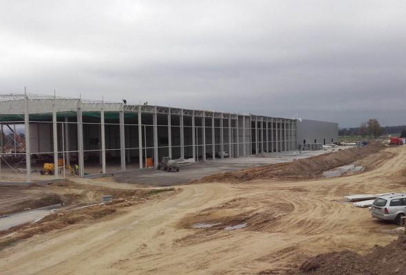 Budowa hali – Targowisko
